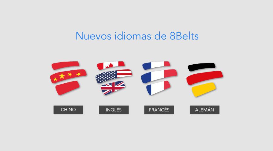 Nuevos cursos de Francés y Alemán en 8 Belts ¡Descúbrelos!