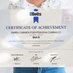 Certificado de Idiomas 8Belts
