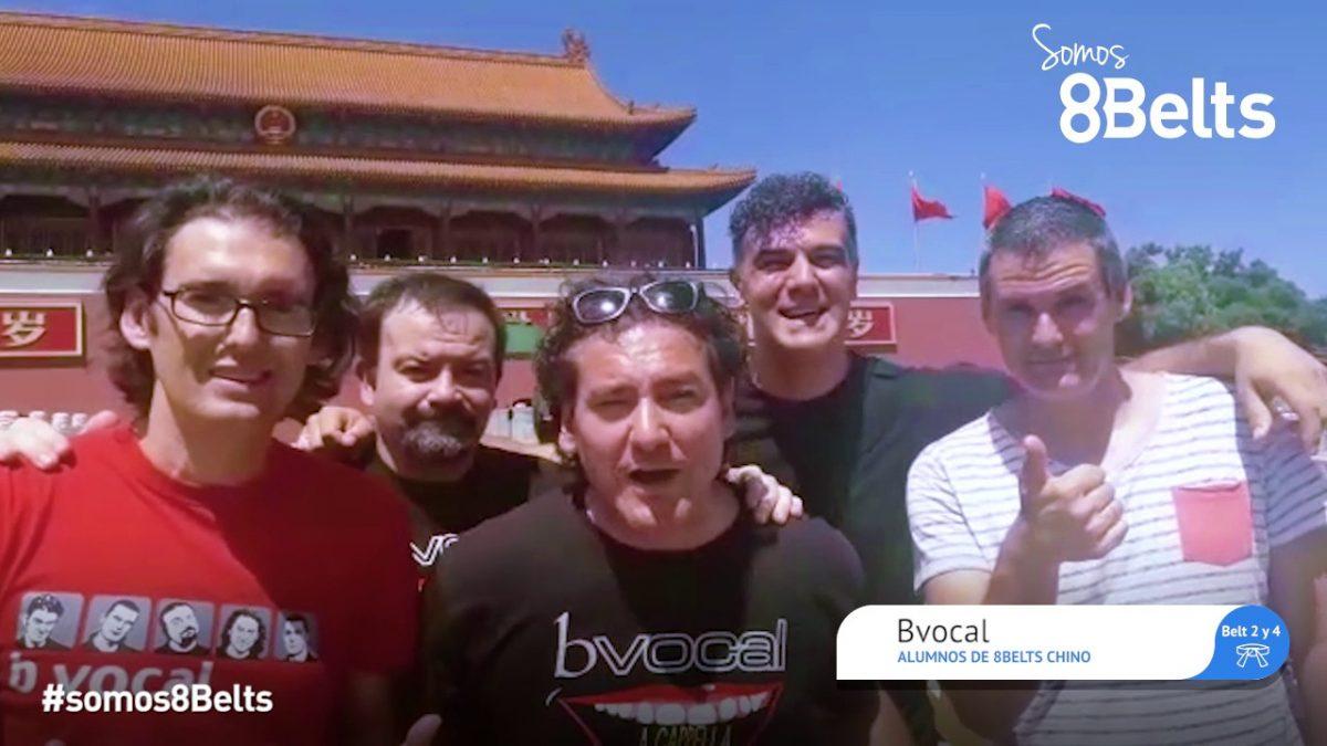 Descubre la experiencia de BVocal, alumnos de 8Belts Chino