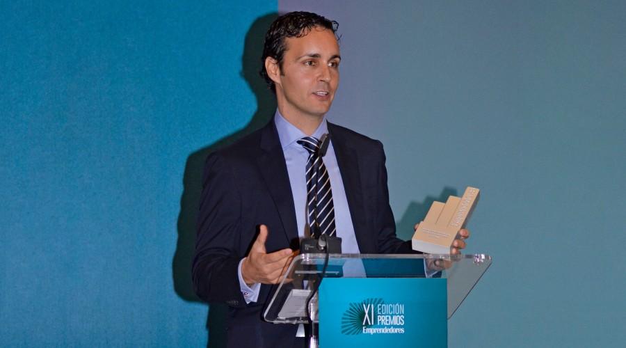 """Anxo Pérez gana el Premio """"Emprendedor Revelación 2015"""""""