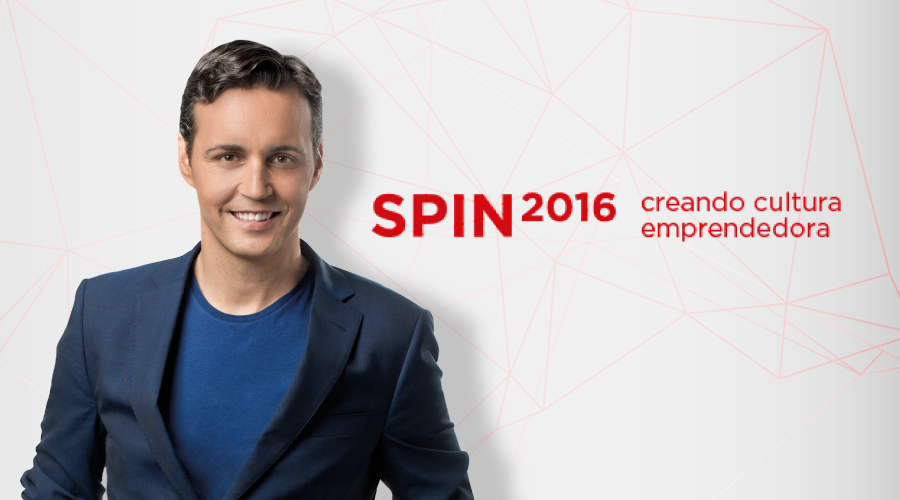 Anxo Pérez presenta 8Belts en el evento SPIN2016 de México