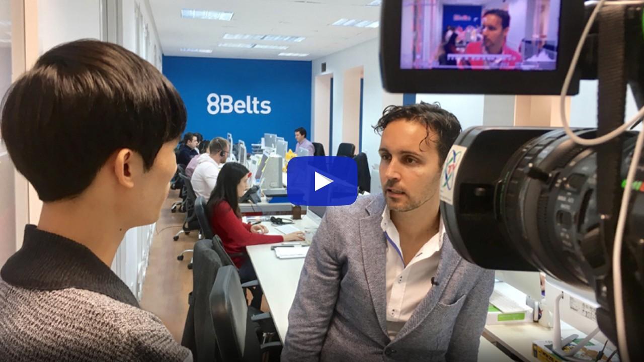 Entrevista Anxo Pérez CCTV Televisión China