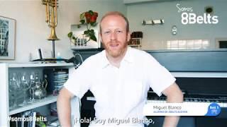 Miguel nos cuenta lo fácil que le ha parecido el alemán con 8Belts