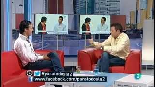 Juanjo Pardo entrevista a Anxo Pérez en Para todos La2