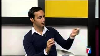 Entrevista de Anxo Pérez en Objetivo Bizkaia de Tele 7