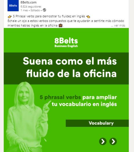 LinkedIn de 8Belts