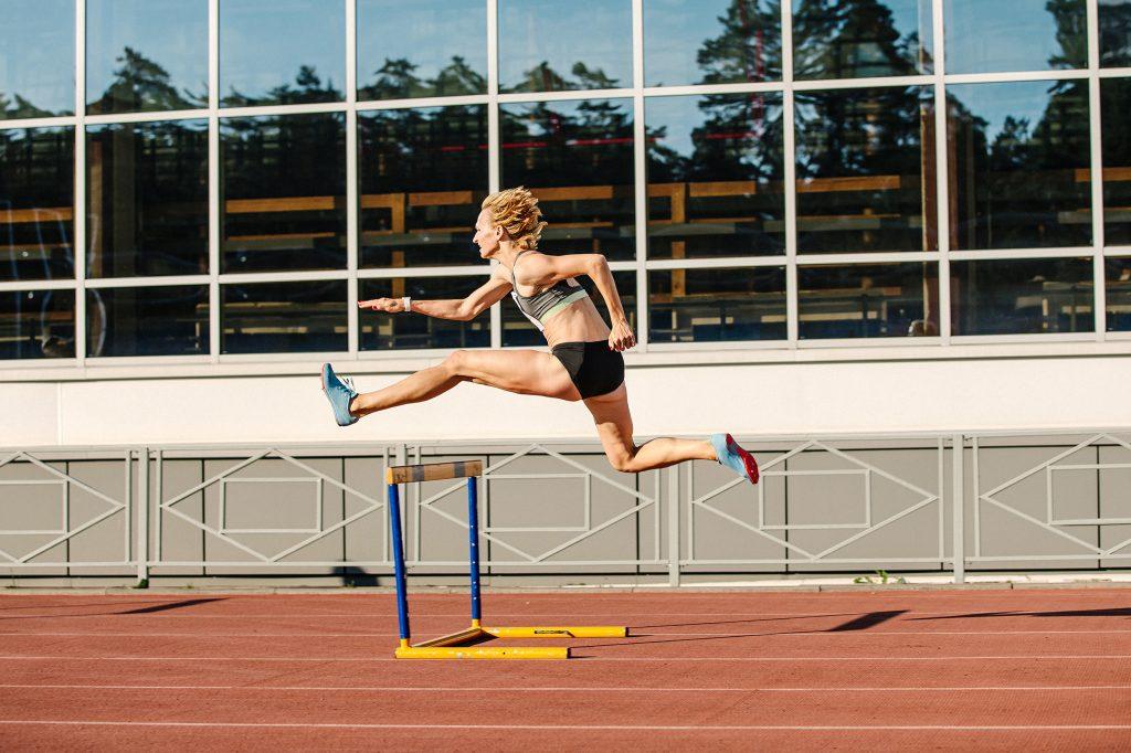 atleta - profesiones en inglés
